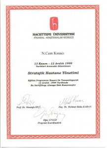 1998 HUFAM COURSE