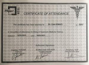 2015 HIPERTECH Certificate
